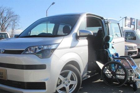 運転操作を補助する福祉車両|米沢市中古車販売のヤリミズ自動車