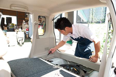 クリーニングも徹底して実施|米沢市中古車販売のヤリミズ自動車