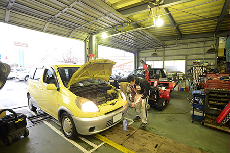 整備保証付き|米沢市中古車販売のヤリミズ自動車