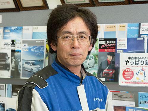 自動車工場長|米沢市中古車販売のヤリミズ自動車