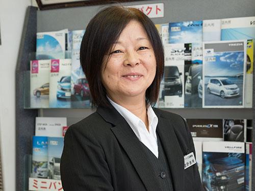 経理事務・菅野春美|米沢市中古車販売のヤリミズ自動車
