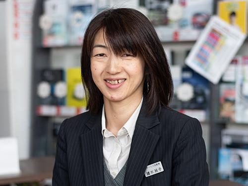自動車保険・事務鑓水純子|米沢市中古車販売のヤリミズ自動車