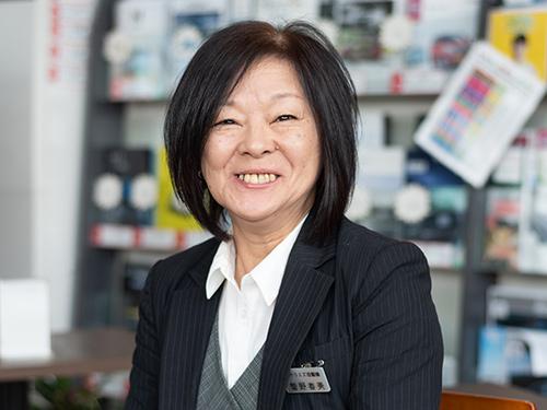 登録・保険業務・菅野春美|米沢市中古車販売のヤリミズ自動車
