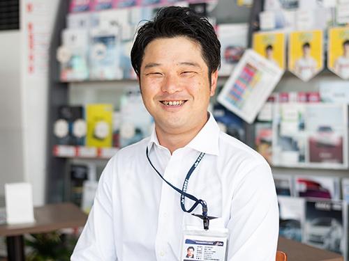ヤリミズ自動車専務営業鈴木慎也|米沢市中古車販売のヤリミズ自動車
