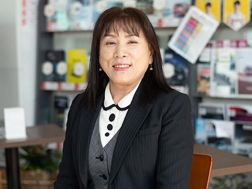 ヤリミズ自動車鑓水妙子|米沢市中古車販売のヤリミズ自動車